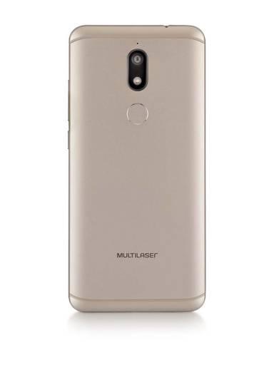 SMARTPHONE MULTILASER MS80 3GB RAM E 32GB  DOURADO E BRANCO