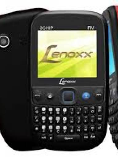 CELULAR LENOXX CX910 PRETO E VERMELHO