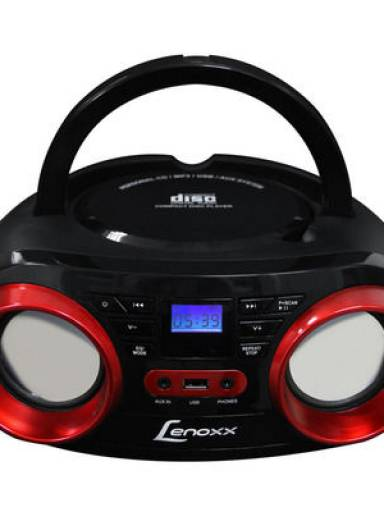 Radio FM Estereo CD/MP3/USB/Entrada Aux