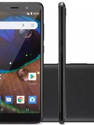 Smartphone Ms50x 4g 1 Ram Tela 5,5  Android 8.1  Novo+brinde